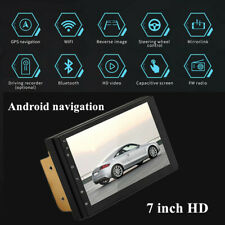 """12V 60W 7"""" Touch Android 8.1 Car Stereo MP5 Player GPS Navi WiFi BT Radio 1G+16G"""