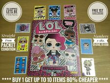 New Panini LOL SURPRISE Lets Be Friends Stickers & Cards, Free Post, Genuine