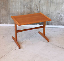 60er Teak Beistelltisch Danish Mid-Century 60s Side Table Vintage 70er 70s