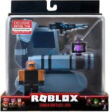 Kids Roblox Vehicle ZED Battle Tank Wave 8 Children Fun Action Figure Toys Gift