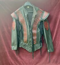 Pendragon Celtic Doublet (w/sleeves) Black with Red Knot - L Excellent Condition