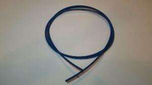 Heat Shrink Tubing 1/8'' Diam x 24ft 2:1 Ratio Sleeve Wire Wrap Raychem Blue