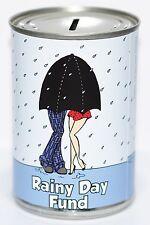 Rainy Day Fund Salvadanaio A Forma Di Barattolo STANDARD Risparmio Jar,Rainy Day