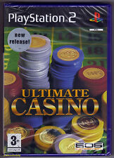 PS2 Ultimate Casino (2005), UK Pal, Brand New & Sony Factory Sealed