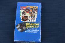 1990-91 PRO SET HOCKEY - SERIES 1 FACTORY SEALED BOX - 36 PACKS - GRETZKY - HOF