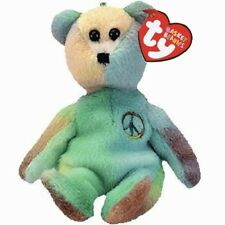 Ty Beanie Babies 03505 Basket Beanies Peace the Bear