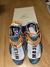 Size 9- adidas NMD Human Race Trail x Pharrell Solar Pack 2018 - BB9528