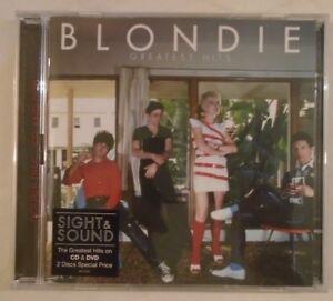 BLONDIE ~ Greatest Hits ~ CD ALBUM & DVD (PAL)
