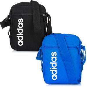 ADIDAS LINEAR CORE Organizer Bag Tasche Umhängetasche Schultertasche Schwarz