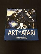 Nolan Bushnell Inventor Art of Atari Capsule Edition Rare Signed Autograph Book