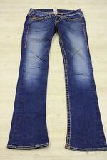 TRUE RELIGION jeans Rainbow Gina 25 blau denim bootcut ausgestelltes bein 11426