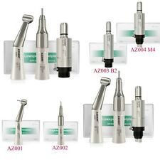 NSK Style Dental Low Speed Handpiece KIts Straight/Air Motor/Contra Angle AZDENT