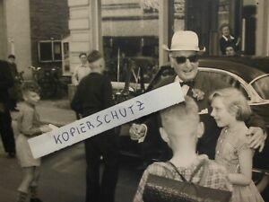 HANS ALBERS in STEINHEIM / Westfalen * 17.5.1957 * schöne Widmung + Autogramm *