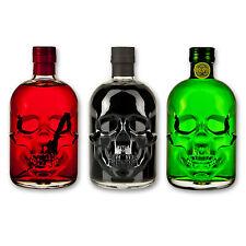 Absinthe Totenkopf Set: Antitoxin 89,9% + Black Head 55% + Red Chili Head 55%