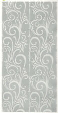 SILVER SWIRL TILES wall stickers 4 decals bedroom decor backsplash bathroom