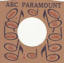 1 FIRMENLOCHCOVER * ABC PARAMOUNT * Repro COVER * NEU * TOP Single Aufwertung