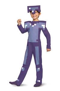 Minecraft Enchanted Diamond Armor Child Costume NEW