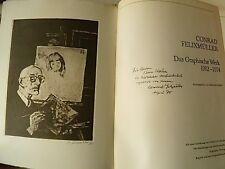 Konrad Felixmüller, Original Holzschnitte, Werkverzeichnisse, Original-Graphik]