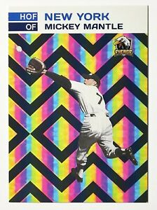 Mickey Mantle Hall Of Fame Custom Card - Mint