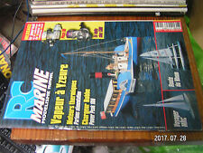 10µµ Revue RC Marine n°143 Alimentation moteur Thermique  VOYAGER