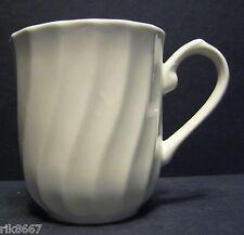 1 Chelsea White mug  By Churchill Not Regency White  Earthenware Tableware