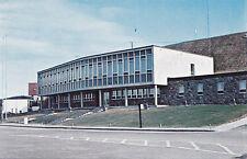 Hôtel de Ville BAIE COMEAU City Hall Quebec Canada 1960-70s Postcard