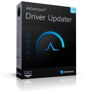 Ashampoo Driver Updater - Treiber aktualisieren 3er Lizenz - Download Version