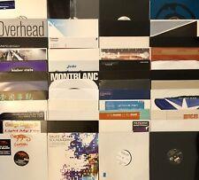 Lot of 50 HOUSE/BREAKS/D+B/TRANCE/CHILLOUT dj vinyl records ALL MINT! LISTEN!!!