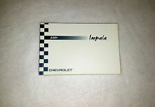 chevrolet other manuals literature for chevrolet impala ebay rh ebay com 2017 Chevrolet Impala Chevrolet Impala Cars