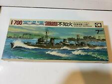 Aoshima 1:700 Water Line Series Japan Navy Destroyer Shiranui WL.Do57-100  #57