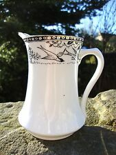 Vintage 1930's Colclough Royal Vale Longton Jug - Canada Goose Bird - Superb