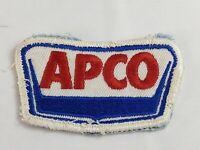 Vintage Gasoline Brand ENCO Gas Station Advertising Patch 00RB