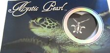Mystic Pearl- Sea Turtle Necklace & Pendant- genuine pearl in oyster- pretty box
