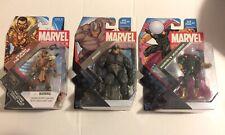 hasbro marvel universe 3.75 action figures Lot Of 3 Rhino Mysterio Kraven