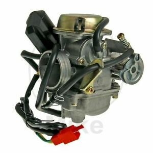 Carburateur Complet 24MM GY6 125 150 Baotian 125 BT125T-7 Bigpan 2006-2008