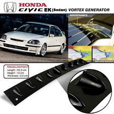 New JDM Honda Civic EK 1996-2000 Glossy Black Vortex Generator Spoiler