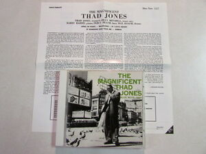 THE MAGNIFICENT THAD JONES JAPAN IMPORT MONO 1997 CD BLP/TOCJ/BN-1527 BLUE NOTE