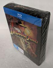 INDIANA JONES 4 Movie Collection BLU-RAY 5-Disc Box Set REGION B oz seller