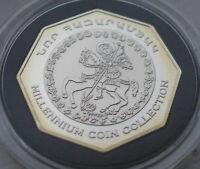 Armenia 2000 drams millennium Silver