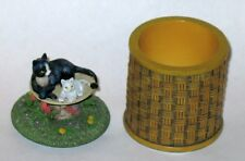 Lang Votive Candle Holder - CATS -Excellent Condition