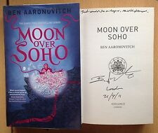 Moon Over Soho,Ben Aaronovitch,1st edition /1st Printing HB DATED LINED SIGNED