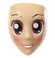 Adult Anime Brown Eyed Sexy Girl Cartoon Female Cosplay Halloween Mask
