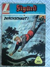 """1960's German Comic Book """"Sigurd"""" """"Durchschaut"""""""