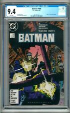 """Batman #406 (1987) CGC 9.4 White Pages  Miller   Part 3 of """"Year 1"""" Storyline"""