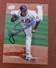 Johan Santana auto signed Autographed Minnesota twins cy young allstar upper