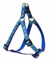 "Lupine Dog Step-In Harness 1/2"" SEA GLASS 10""-13"" Aqua Green Purple Blue New"