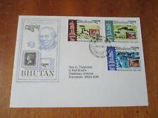 Bhutan FDC ~ 1979 Rowland Hill Death Centenary