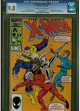 UNCANNY X MEN #215 CGC 9.8 WHITE PAGES 1ST FULL APPEARANCE OF STONEWALL 1987