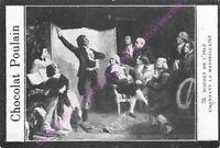 CHROMO CHOCOLAT POULAIN HISTOIRE Rouget de L Isle chantant la Marseillaise n 76