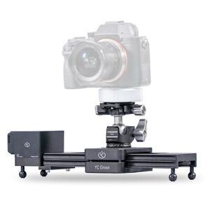 YC ONION Chocolate Aluminum Motorized Camera Slider Set App Control W/ Ball Head